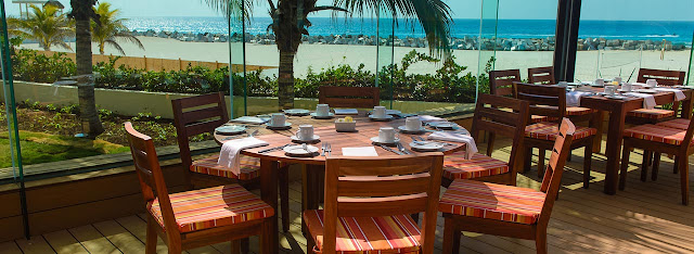 Restaurant Resort playa punta Cancún