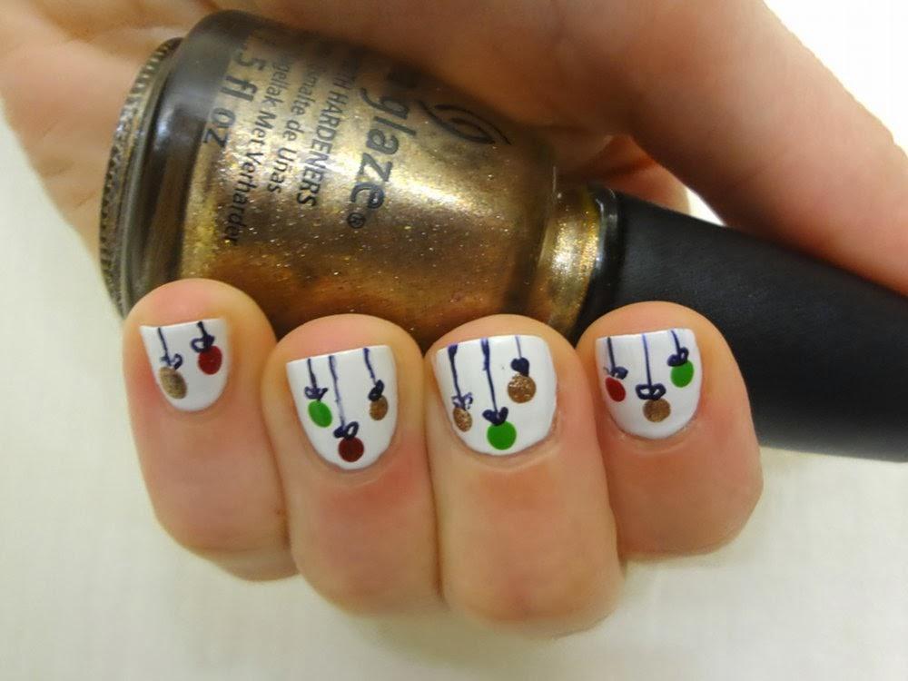 aka Bailey: Christmas Ornament Nails