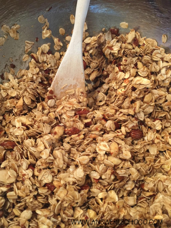 The Answer Is Chocolate: Homemade Honey Almond Granola