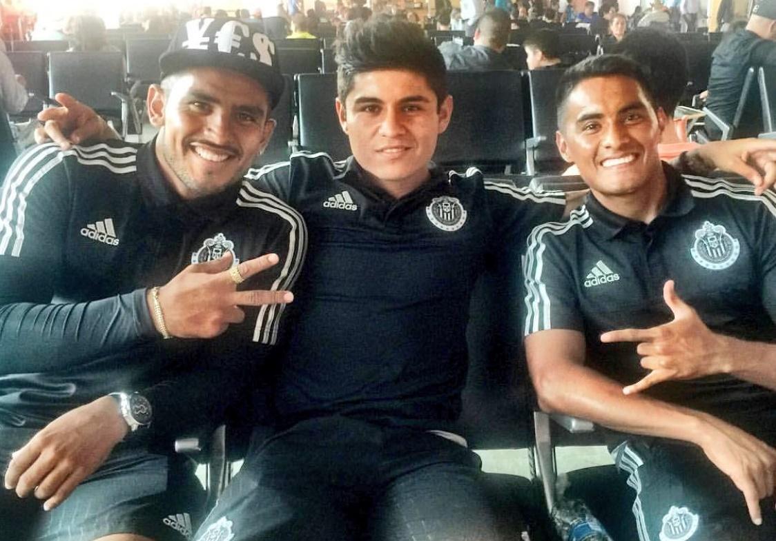 Ponce, 'Chofis' y 'Gallito'.