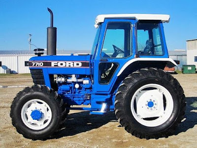 HEAVY-EQUIPMENT MANUAL PDF: Ford New Holland 7710 Tractor
