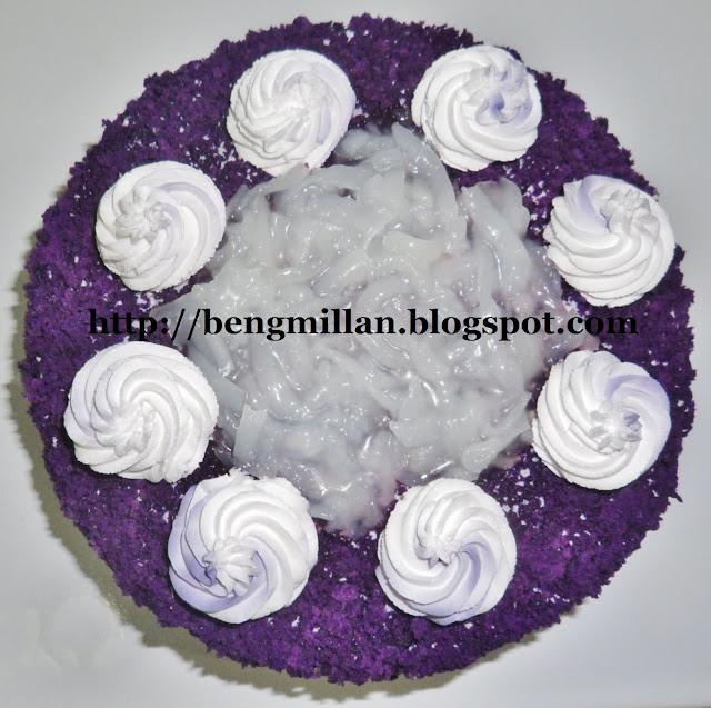 Ube Macapuno Cake
