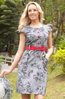 modelo de vestido estampado evangélico - dicas e fotos
