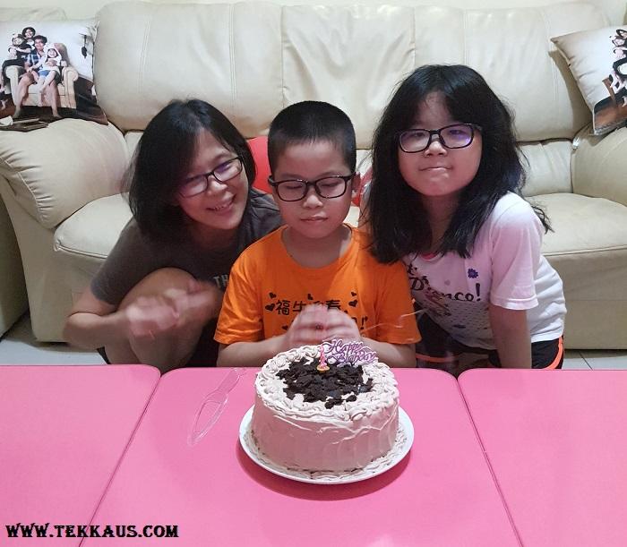 Celebrate Birthday with family