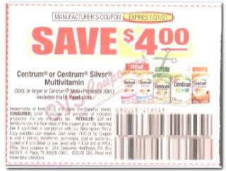 centrum coupon save $4 off