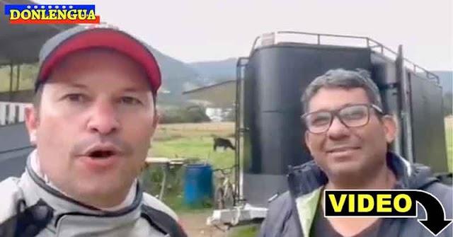 Venezolano auxilió al Jefe de Migración de Colombia en su moto