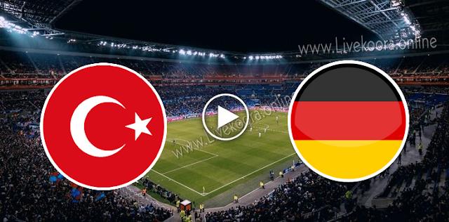 موعد مباراة ألمانيا وتركيا بث مباشر بتاريخ 07-10-2020 مباراة ودية