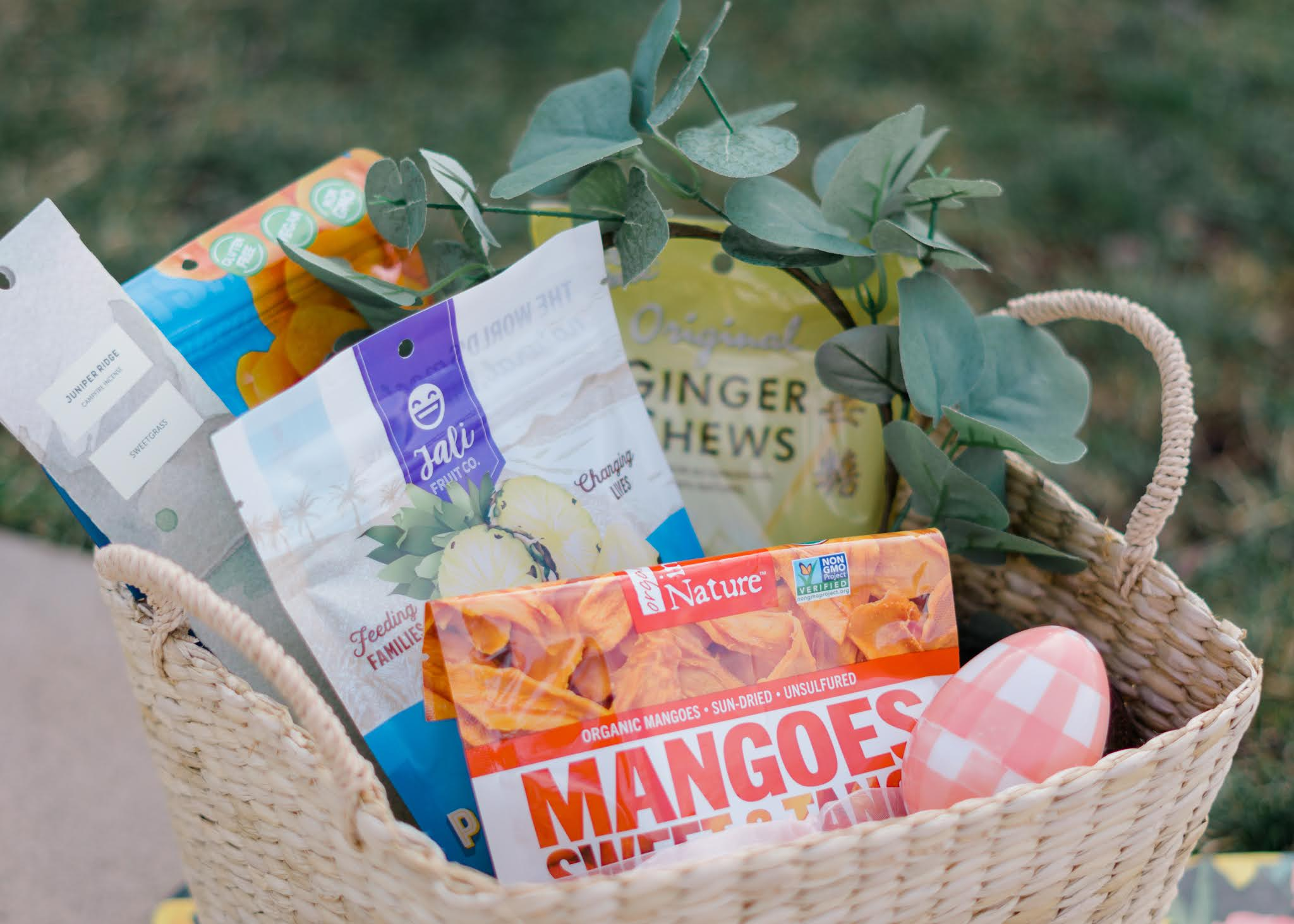 Dried fruit and plant-based power bars make great additions to Wholesome Easter Baskets