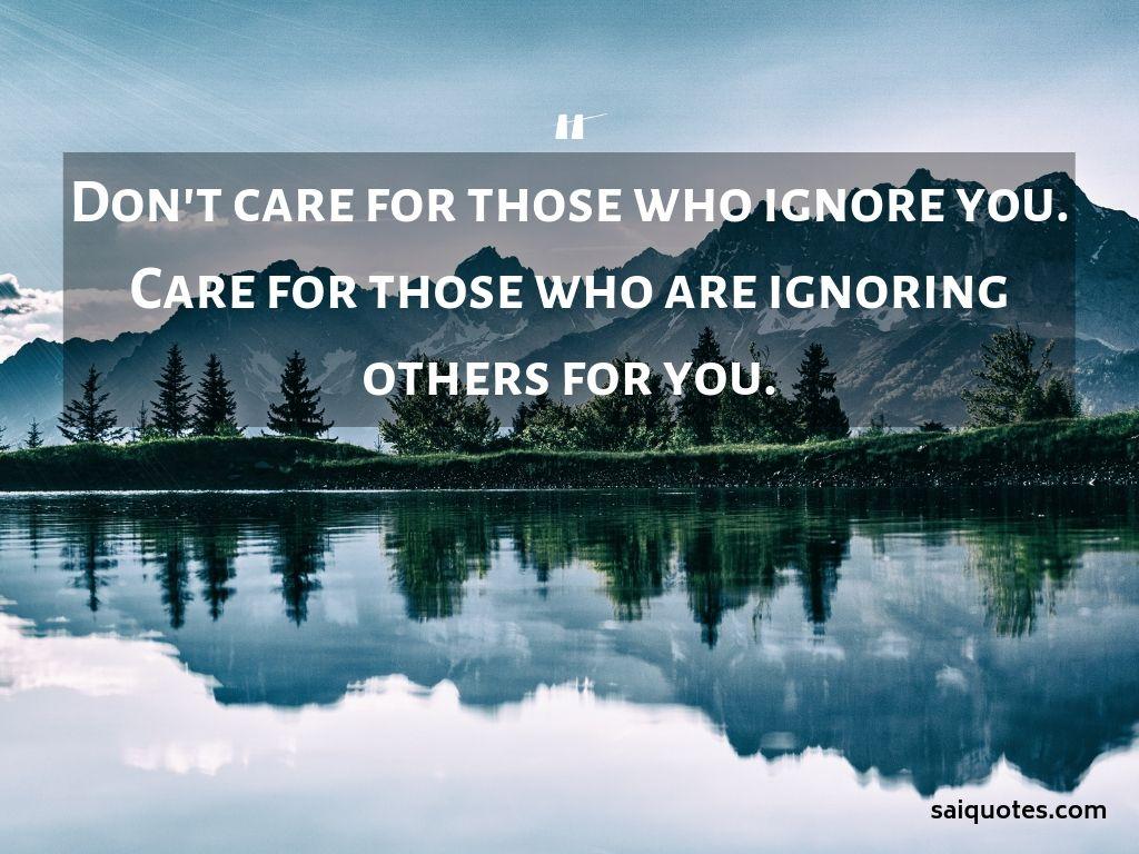 Sai Quotes: Caring Quotes