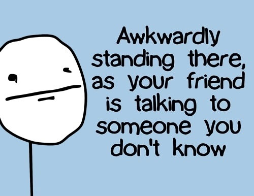 one of the most awkward situations