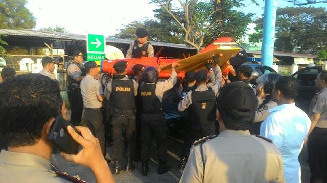 Drone Intai Milik Asing Jatuh di Perairan Batam