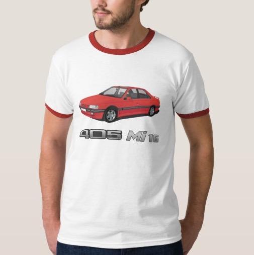 Peugeot 405 Mi 16 t-shirt