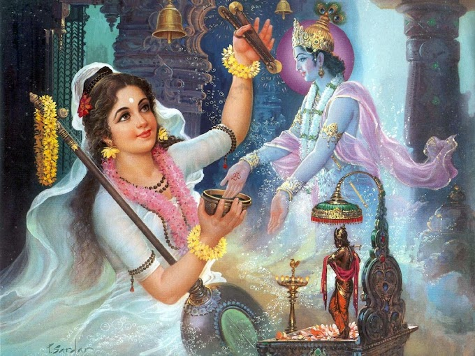 Preparation for Vedic Worship (purvanga-karma)