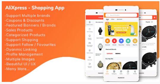 AliXpress App - Multi Vendor Shopping App nulled v1.1.0