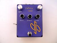 Felony Case guitar distortion, custom made for George Gousias
