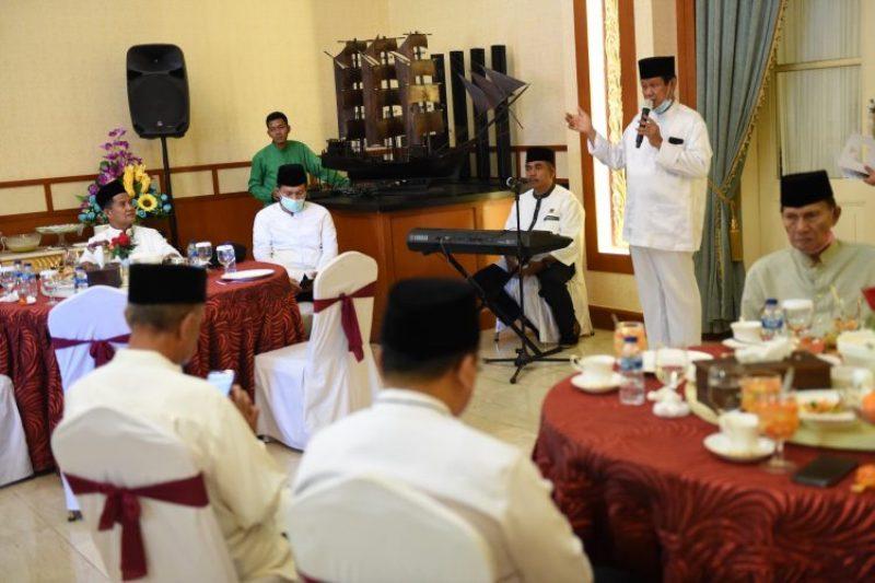 Isdianto Gelar Ramah-Tamah Bersama Para Senior Birokrat Kepri