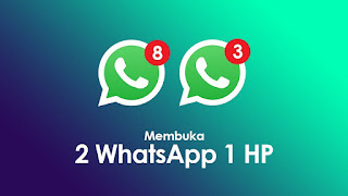 Membuat Akun Whatsapp Ganda di Hp Oppo