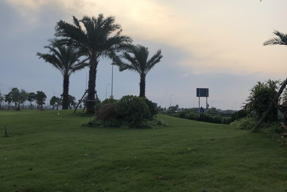 Bãi tập golf thể hiện đẳng cấp của cư dân Him Lam Green Park Đại Phúc