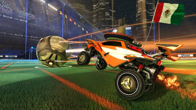 لعبة السيارات الصاروخية Rocket League 5.jpg