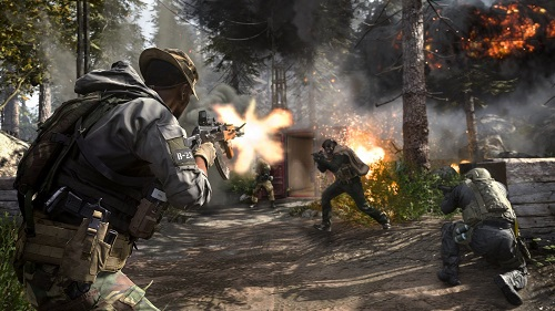 Call of Duty: Modern Warfare cross play beta