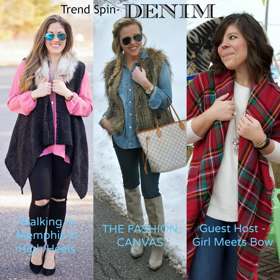 Trend Spin Link-Up: Denim