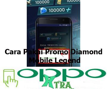 Cara Pakai Promo Diamond Mobile Legend