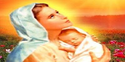 imagem de Nossa Senhora com Menino Jesus nos braços