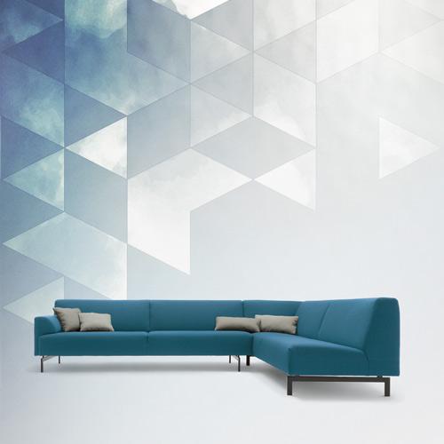 wonenonline hollandse nuchterheid bank 310 van rolf benz. Black Bedroom Furniture Sets. Home Design Ideas