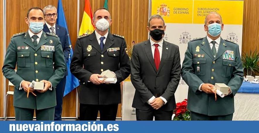 El gobierno de España premia a la Guardia Civil de Algeciras y su teniente coronel Fernando López-Rey