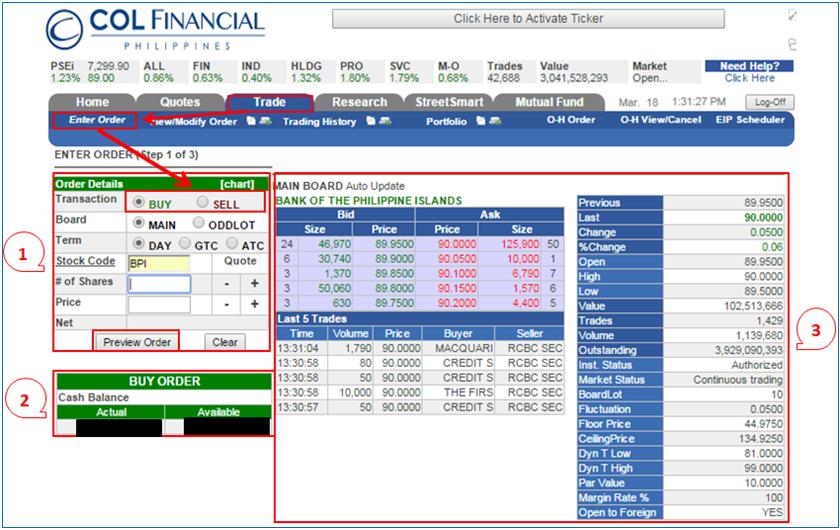 Philippine Stock Exchange - Stock Market Trading: Basic ...