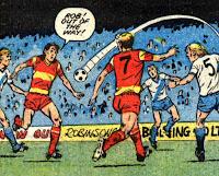 Deans Park vs Melchester Rovers 1985/86