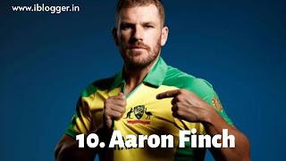 आरोन फिंच (Aaron Finch)