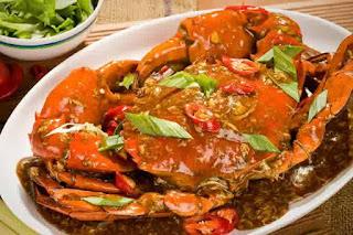 Panduan Resep Kepiting Pedas Saus Singapura Ala Makan Enak