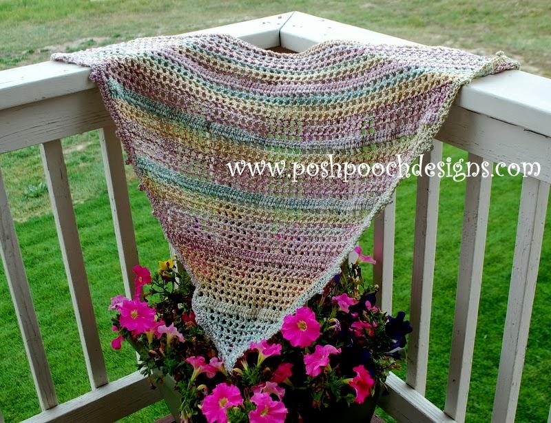 Fiber Flux Spring Shawls 12 Beautiful Free Crochet Patterns