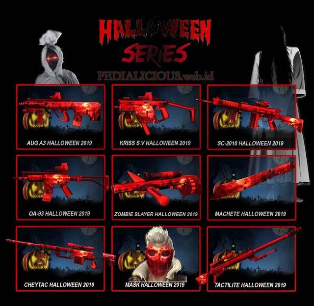 Harga & Statistik Seri Halloween 2019 Senjata Point Blank