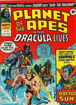 Marvel UK, Planet of the Apes #90
