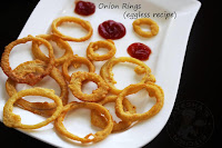 EGGLESS ONION RINGS