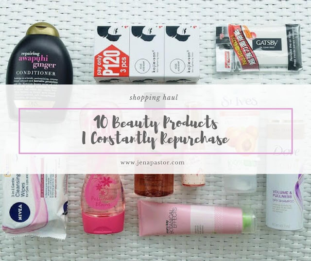 beauty and bath products