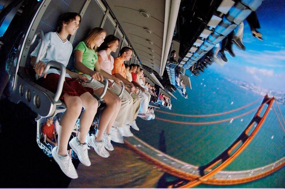 Brinquedo Soarin - Disney Epcot Orlando