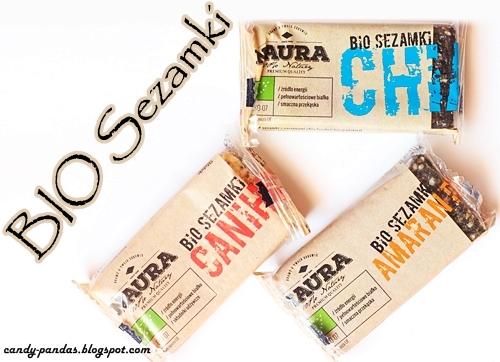 Sezamki z amarantusem / canihua / chia – Bio Naura