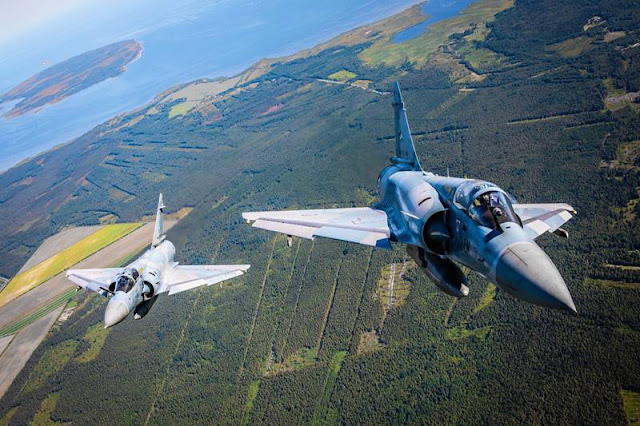 French Mirage air policing Baltic