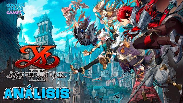 Análisis de Y IX 9 Monstrum Nox PlayStation 4