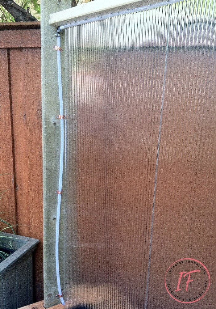 Diy Outdoor Water Wall Privacy Screen Interior Frugalista