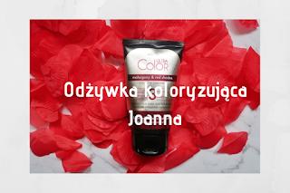 Joanna Ultra Color System Odżywka koloryzująca czerwień