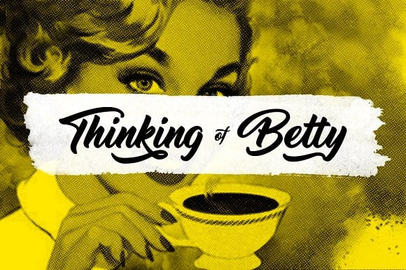[Download] Thinking of betty Font