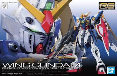 RG 1/144 Wing Gundam (TV Version) Official Images