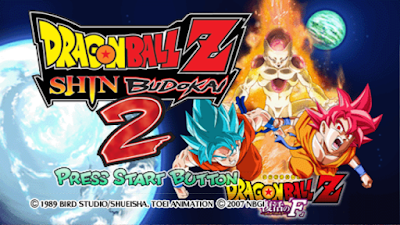 Dragon Ball Z - Shin Budokai 2 God Blue PPSSPP CSO Mod [Unlock All Characters]