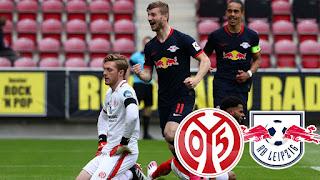 РБ Лейпциг — Майнц: прогноз на матч, где будет трансляция смотреть онлайн в 16:30 МСК. 20.09.2020г.