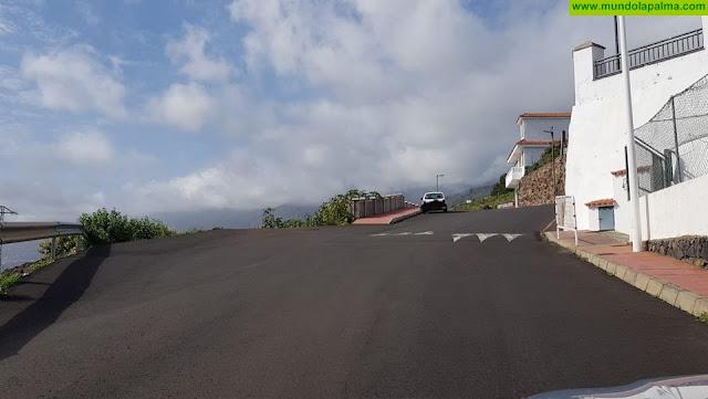 CC en Puntallanasolicita la mejora de la seguridad vial en el acceso al barrio de Tenagua