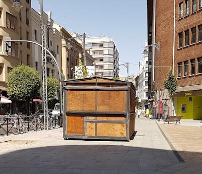 casetas de la feria del día Valladolid 2016